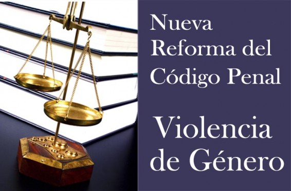 Reforma código penal : Violencia de Género