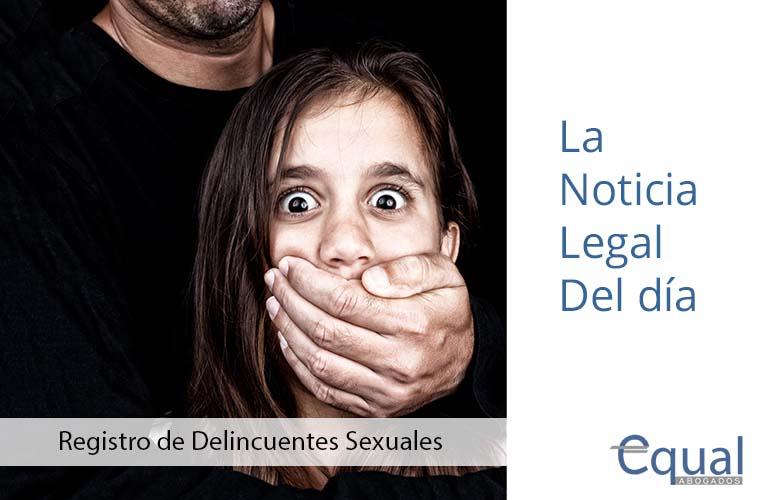 Registro de Delincuentes Sexuales