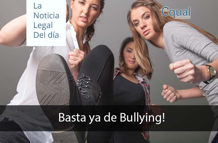 Basta ya de Bullying