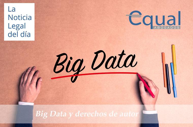 Big Data y derechos de autor